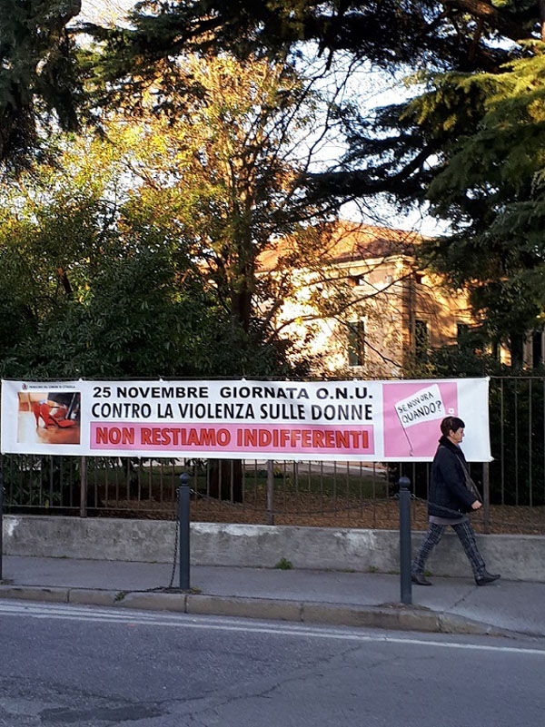 non restiamo indifferenti 25 nov